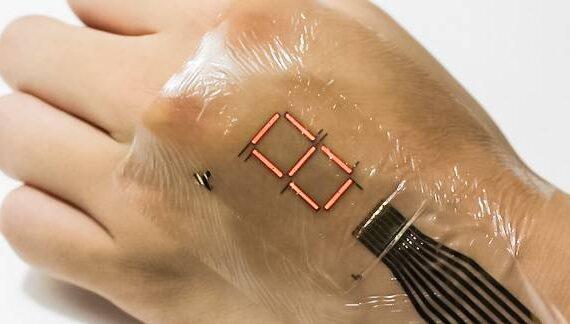Japanse wetenschappers ontwikkelen ultradunne beschermlaag e-skin display