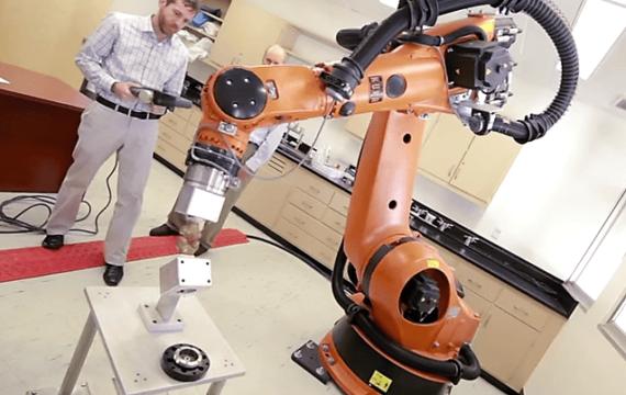 Robot helpt bij genezing knieblessures