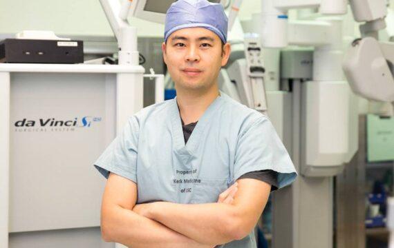 Zwarte doos registreert bekwaamheid chirurg in bedienen operatierobot