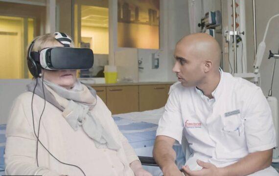 Franciscus Gasthuis onderzoekt VR exposure therapie na IC-opname