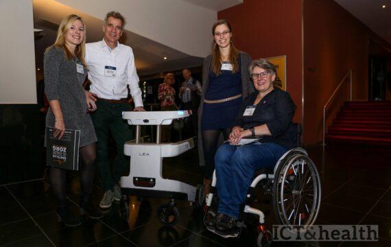 Het Haagse Robot Care Systems wil dit voorjaar nog de robotrollator LEA op de markt brengen.