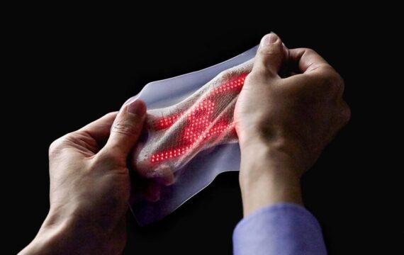 Japanners ontwikkelen nephuid om lichaamsfuncties te monitoren