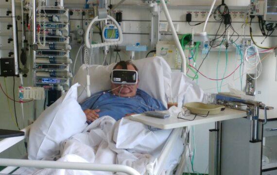 VR-project moet sociaal isolement brandwondenpatiënten voorkomen