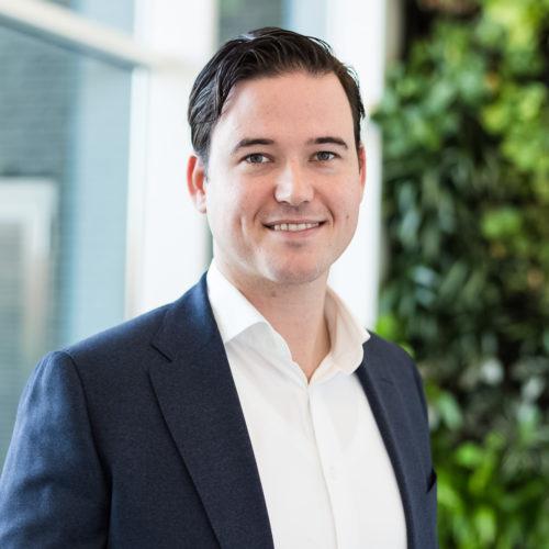 Florian Visser Directeur St. RijnmondNet