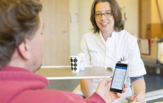 Patiënten Isala krijgen grip op herstel met Voeding-app