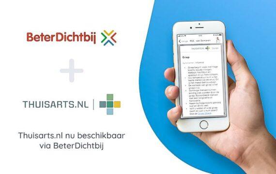 Samenwerking BeterDichtbij met Thuisarts.nl ontsluit medische informatie