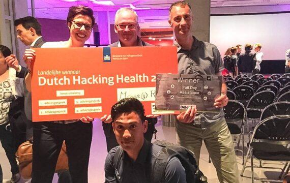 AR-spel voor looprevalidatie wint landelijke hackathon finale