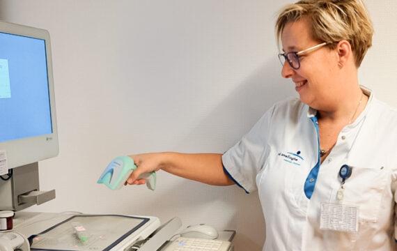 Nij Smellinghe gaat toedienen opiaten dubbel controleren met MedEye