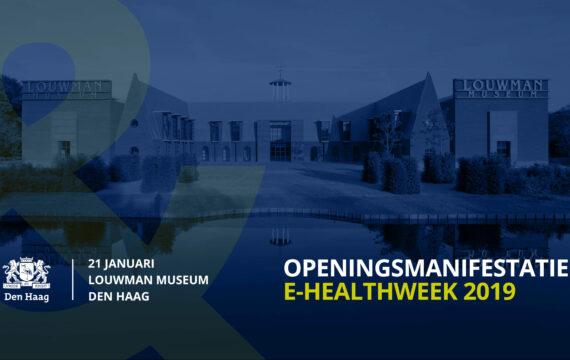 Openingsmanifestatie e-healthweek 2019!