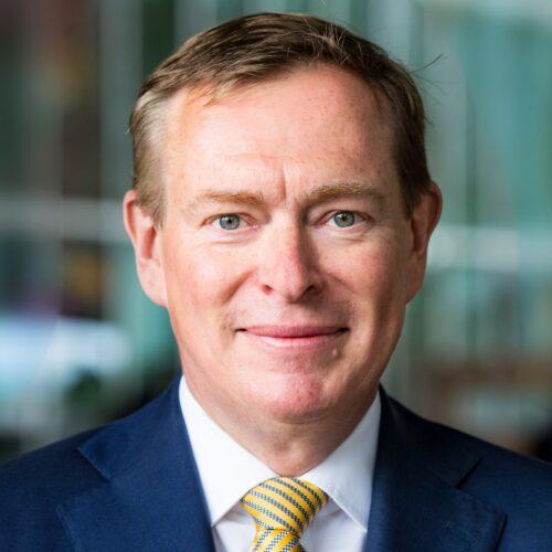 Bruno Bruins, minister voor Medische Zorg en Sport bij het Ministerie van Volksgezondheid, Welzijn en Sport ICT&health E-health