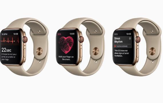 Nieuwe Apple Watch maakt hartfilmpje, biedt valdetectie