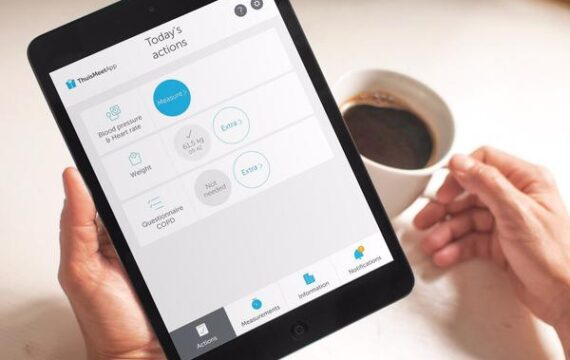 Dijklander Ziekenhuis biedt thuismeten via Luscii-app