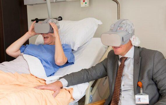 Oncologiepatiënten Maasstad maken virtueel uitstapje