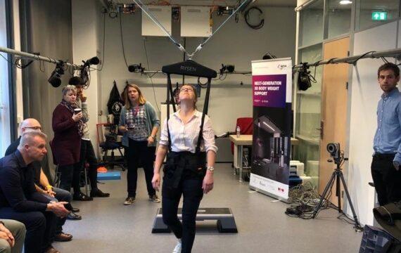 Systeem robotondersteuning revalidatie op de markt