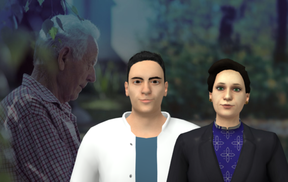 Digitale oefendokter traint ouderen in gesprekken met zorgverleners