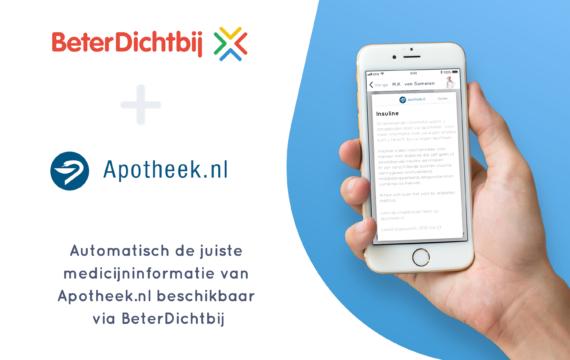 Informatie Apotheek.nl beschikbaar in BeterDichtbij-app