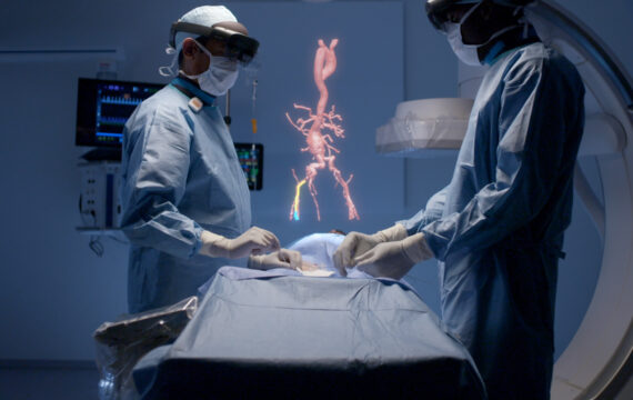 Philips, Microsoft komen met mixed reality voor chirurgie