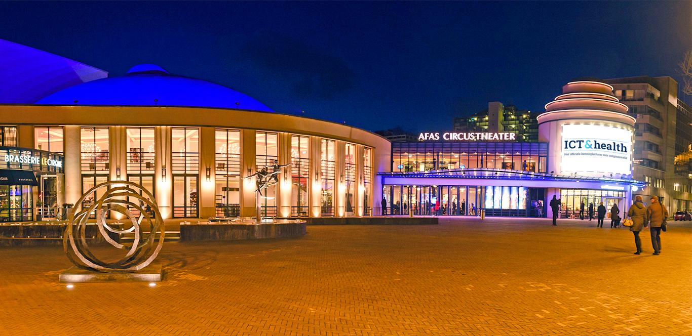 Circustheater, ICT&health, Nederland, Den Haag, zorg, innovatie