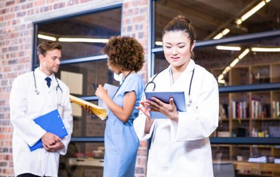 Samenwerken met medisch grafische data