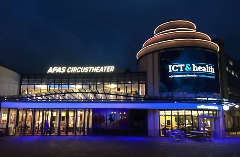 ICT&health 2020, AFAS Circus Theater