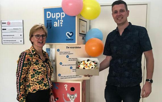 Saxenburgh gaat gebruik patiëntportaal met DUPP-zuil stimuleren