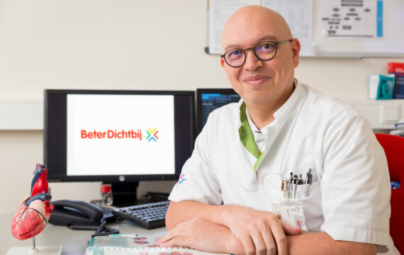 Cardioloog Peter Geerlings (SJG) wordt CMIO BeterDichtbij