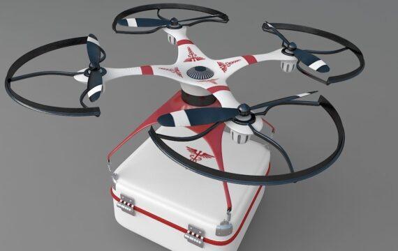 Drone met succes ingezet voor orgaan transplantatie