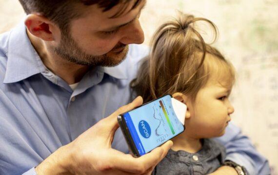 App kan oorinfectie bij kinderen aantonen