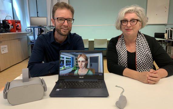 HAN biedt VR-toepassing voor communicatievaardigheden studenten