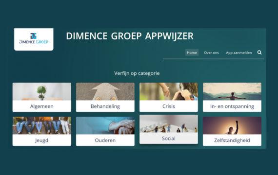 Dimence Groep zet appwijzer online
