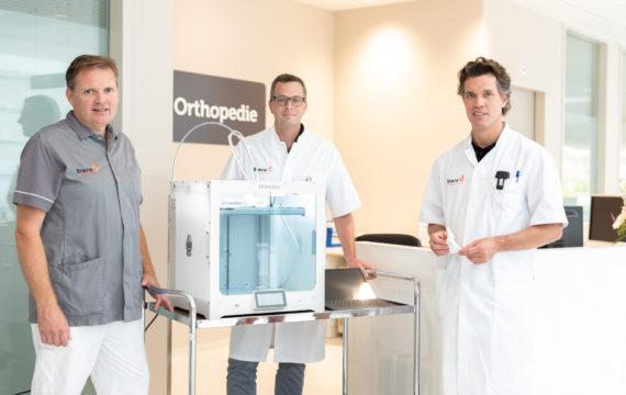 Bravis ziekenhuis licht patiënten voor met 3D-printer
