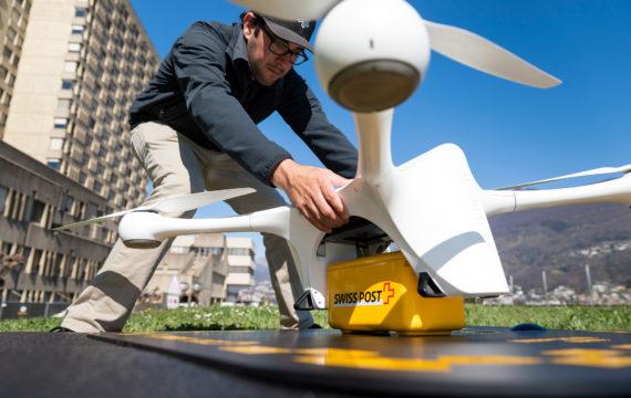 Swiss Post: inzet drones voor medisch vervoer stopgezet