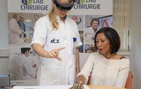 Chirurgen ETZ bereiden zich met hologram voor op operatie