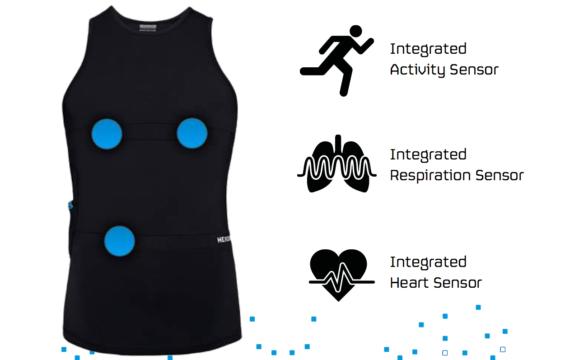 Topschaatsers ondergaan tests met slim t-shirt