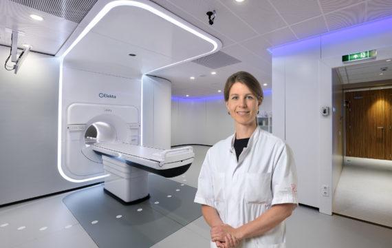 AvL bestraalt kankerpatiënt met behulp van 3D-mini-film