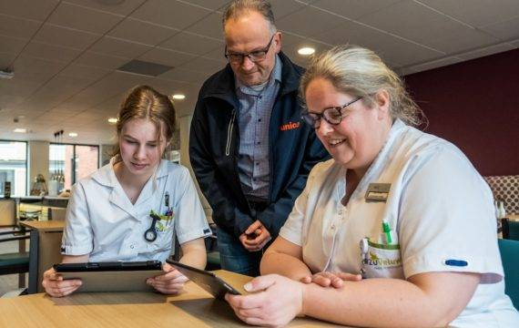 ICT-omgeving basis voor digitale vaardigheden zorgpersoneel