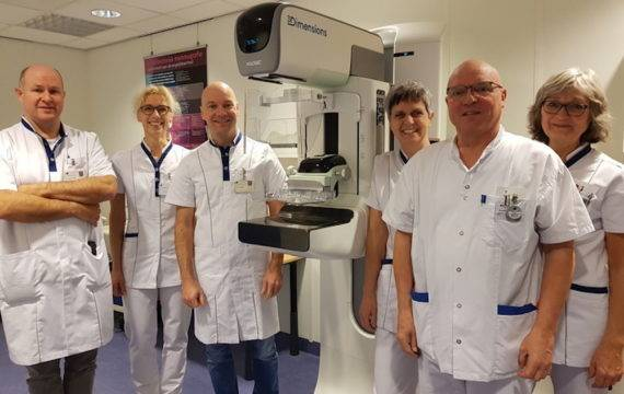 Saxenburgh neemt 3D mammograaf in gebruik