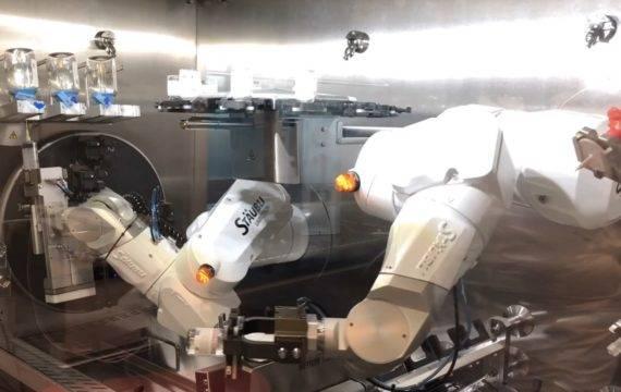 Robot ontlast medewerkers apotheek Radboudumc