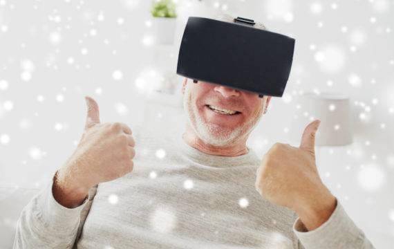 Met een VR-bril even ontsnappen aan het ziek zijn