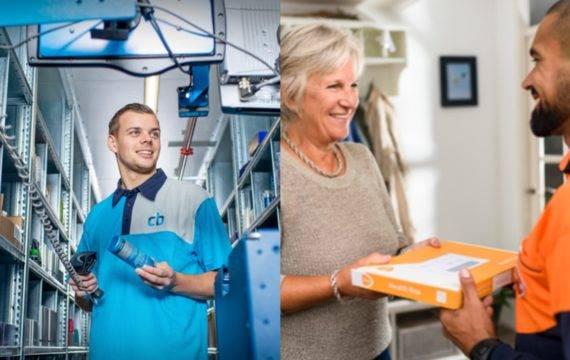 PostNL en CB Healthcare werken samen in de zorglogistiek