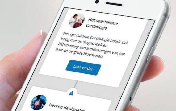 Rijnstate Zorgapp nu ook voor patiënten met hartfalen