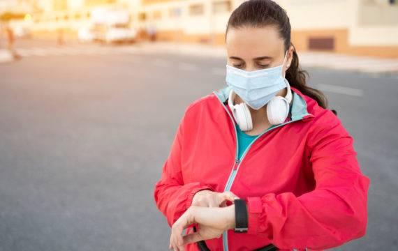 Evalueren van e-health; wearables  tegen corona