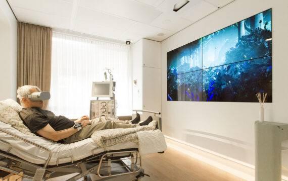 R4Heal Radboudumc: gepersonaliseerde ziekenhuiskamer 2.0 'Technologie, patiënt en verpleging vormen samen healing environment'