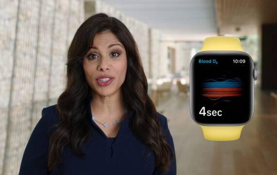 Ziekenhuizen, Luscii, zetten Apple Watch 6 in bij studie