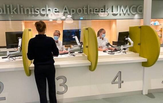 Robot voor de nieuwe UMCG apotheek