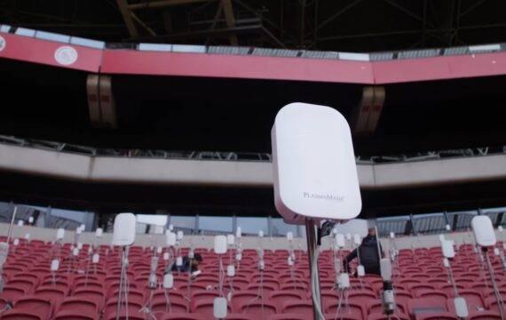 Onderzoek naar verspreiding aerosolen in stadions