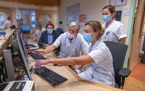 Nu ook thuismonitoring COVID-19 patiënten in het Isala