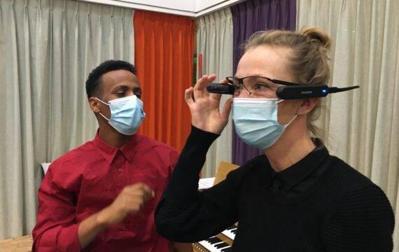'Slimme bril biedt zorg legio mogelijkheden'