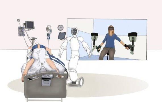 UT werkt aan Avatar-besturing robots op afstand