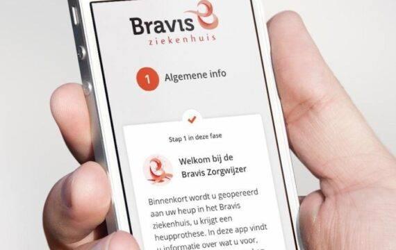 Bravis breidt behandelingen in Patiënt Journey App uit